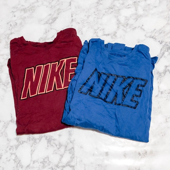 Nike Other - BUNDLE 2 long sleeve Nike shirts